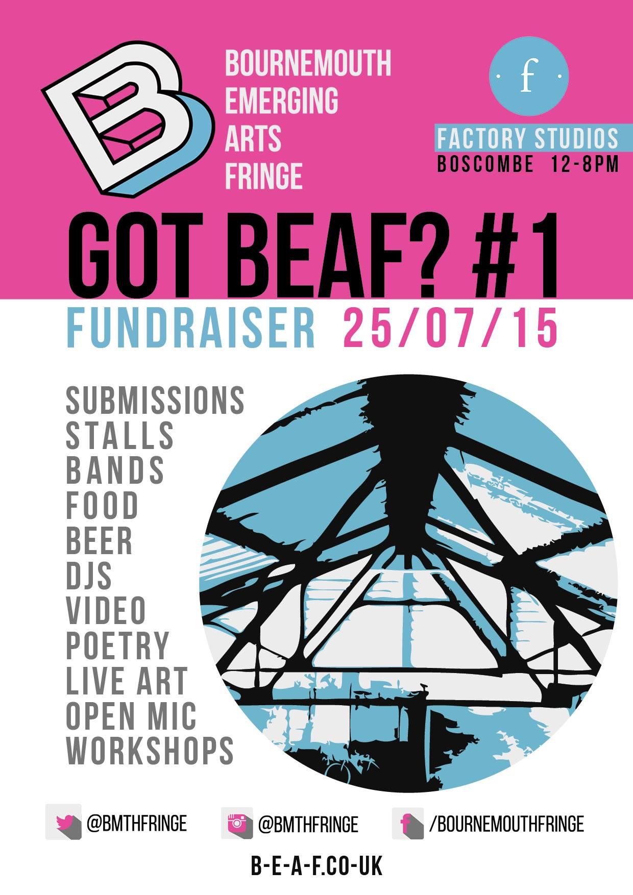 Bournemouth Emerging Arts Fringe - Got Beaf? #1 Fundraiser