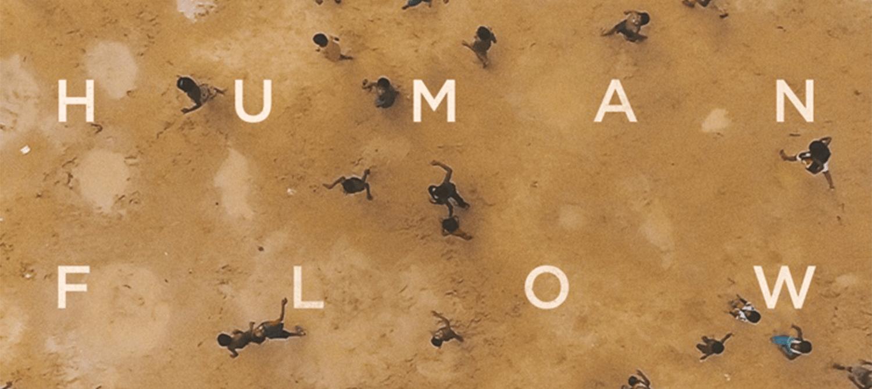 Human Flow film poster.